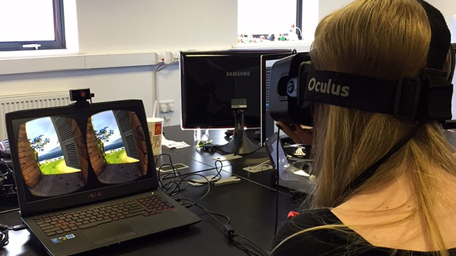 inLIFE Virtual Reality Apps with Oculus Rift