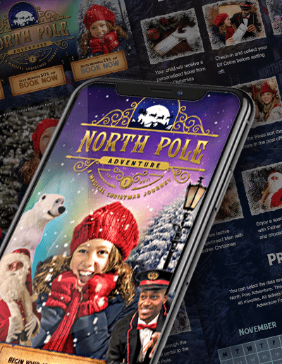 Case Study : The Northpole Adventure Website