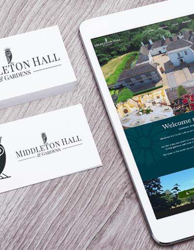 Case Study : Middleton Hall Branding & Website