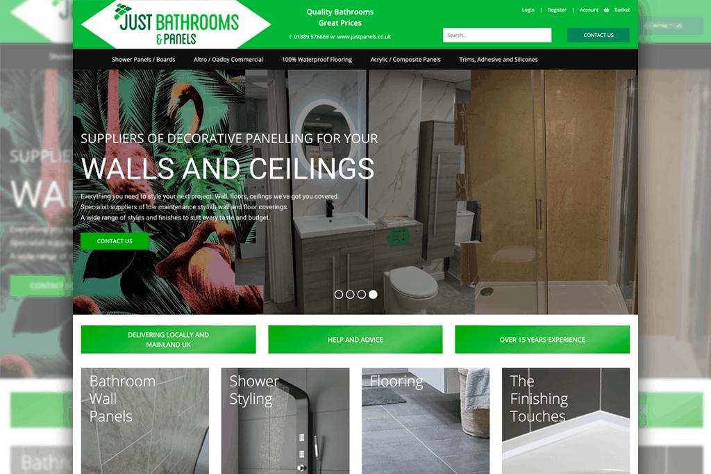 Just Bathrooms & Panels